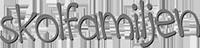 skolfamiljen logotyp svart vit
